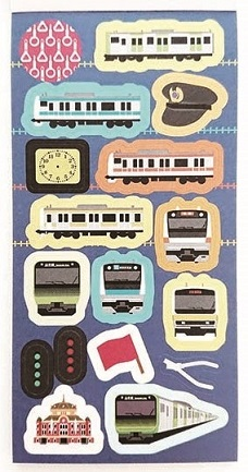 JR東 シールブック通勤電車
