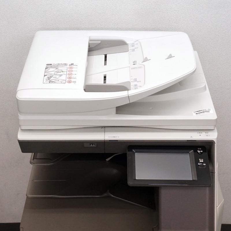 中古コピー機 シャープ カラー複合機 MX-3630FN (4段カセット/カウンタ14,383枚) 中古