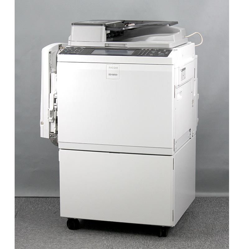 中古印刷機 サテリオ DD6650P リコー/RICOH 中古輪転機 【良品/トータル260,730枚/折込広告/チラシ】