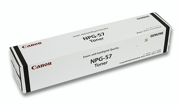 NPG-57 キヤノン/Canon ブラックトナー【キヤノン純正 新品未開封/新古】