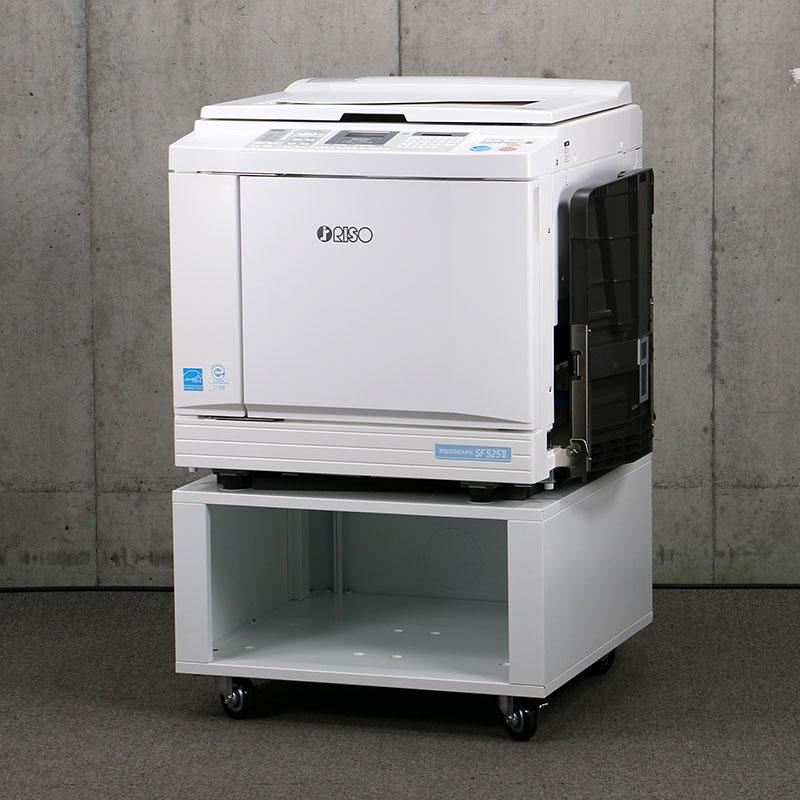 中古印刷機 リソグラフ SF525� 理想科学/RISO 中古輪転機 【極上品/2019年製/現行機/トータル20,371枚/折込広告/チラシ】