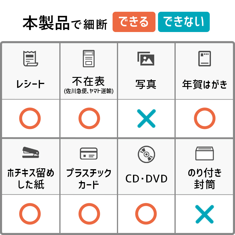 【長時間処理用】ナカバヤシ A4パーソナルシュレッダー ホチキス CD DVD カード細断 NSE-515BK【海外生産モデル】【新品】