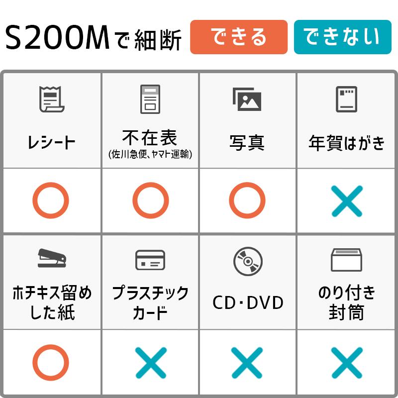 業務用シュレッダー Asmix/アスカ S200M