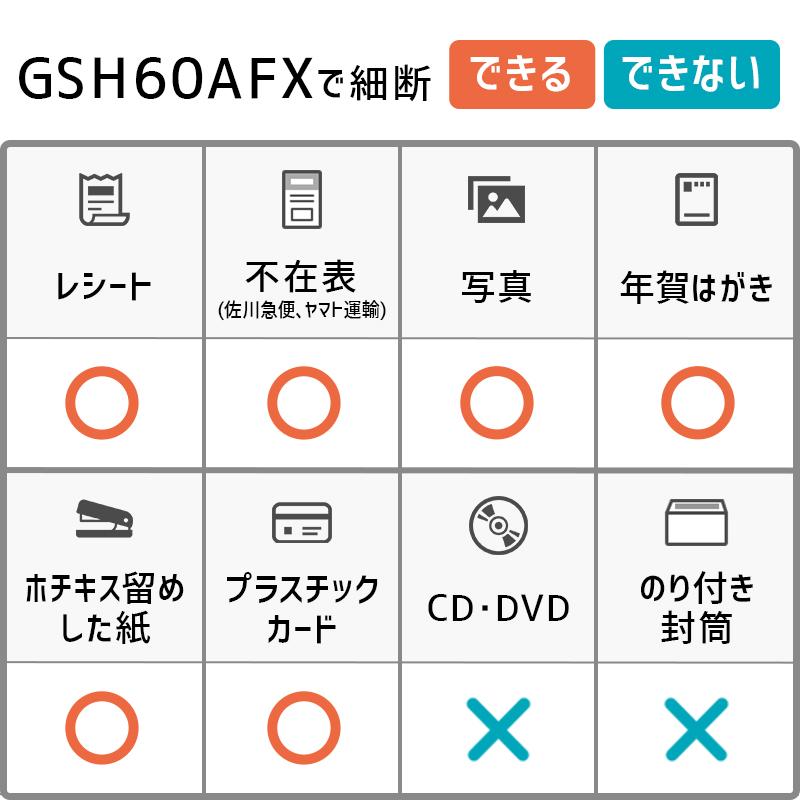 アコ・ブランズ・ジャパン GSH60AFX オートフィードシュレッダー