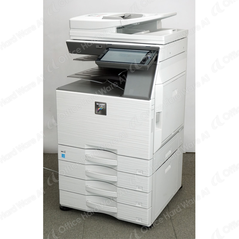 シャープ カラーコピー機 複合機 MX-2650FN (4段カセット/カウンタ29,650枚) 中古