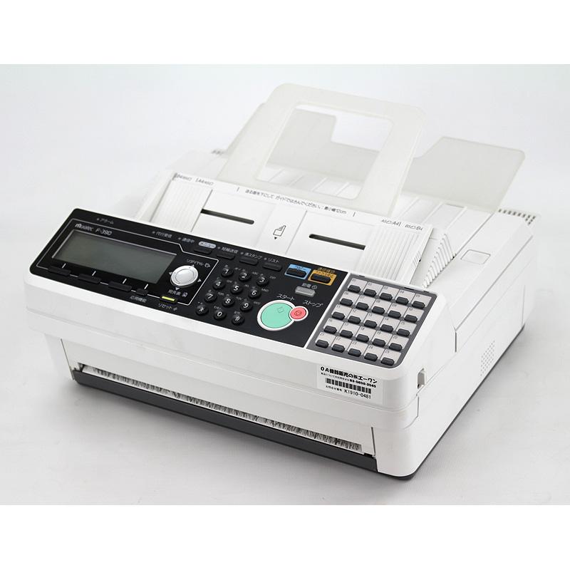 業務用感熱紙ファックス F-390(中古)