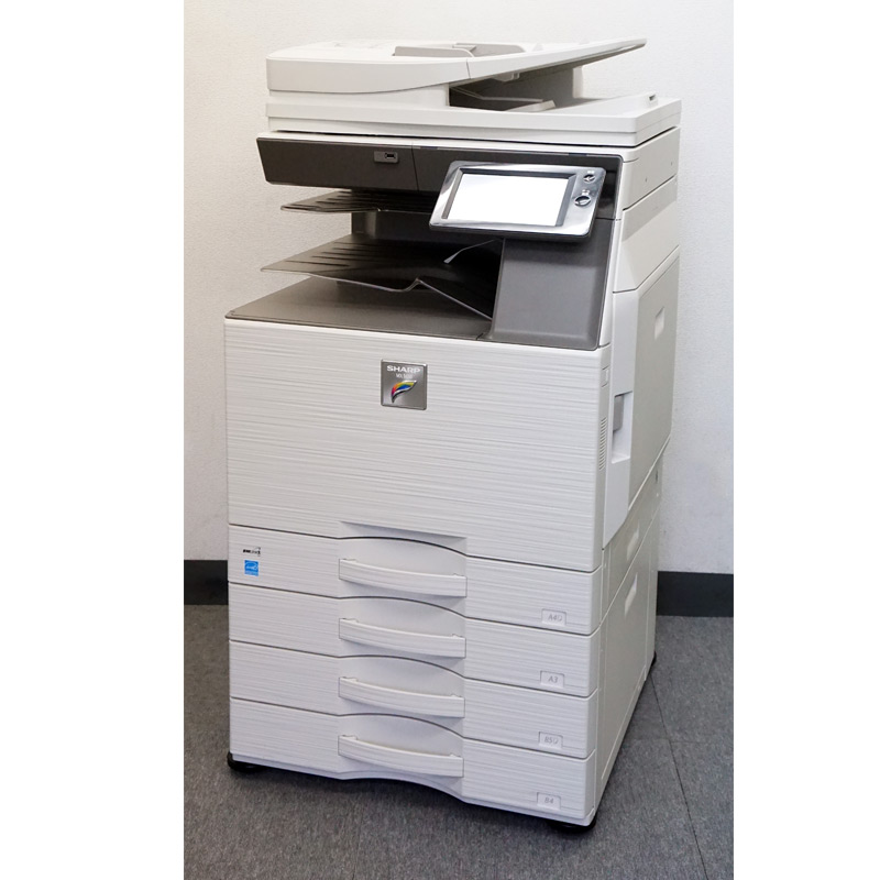 シャープ カラーコピー機 複合機 MX-2630FN (4段カセット/カウンタ11,767枚) 中古