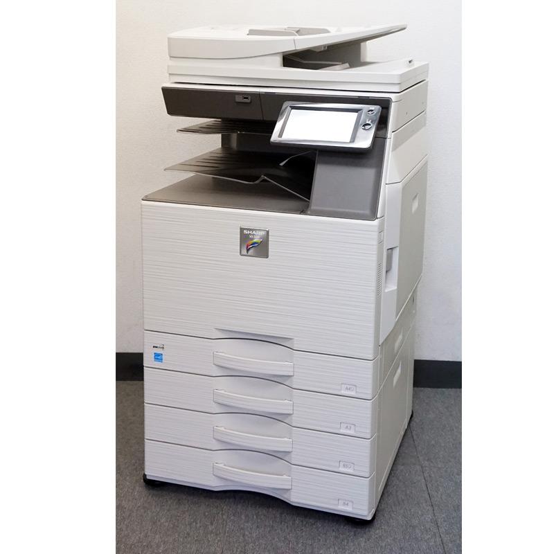 シャープ カラーコピー機 複合機 MX-2630FN (4段カセット/カウンタ22,523枚) 中古