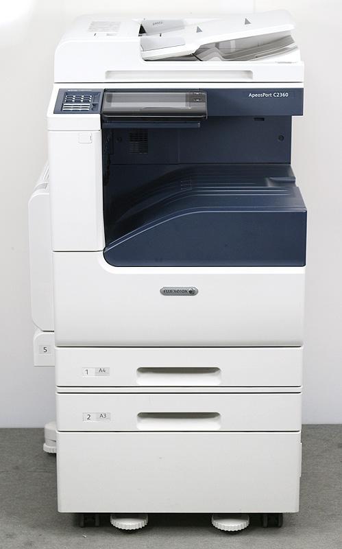 富士フイルムビジネスイノベーション(旧:富士ゼロックス) A3カラーコピー機(複合機)ApeosPort C2360 PFS (中古)