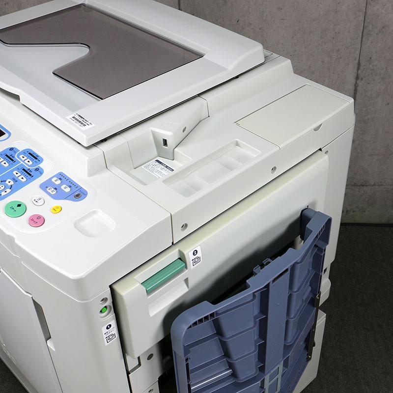 中古印刷機 リソグラフ ME635 2色機 理想科学/RISO  中古輪転機【良品/トータル141,026/折込広告/チラシ】