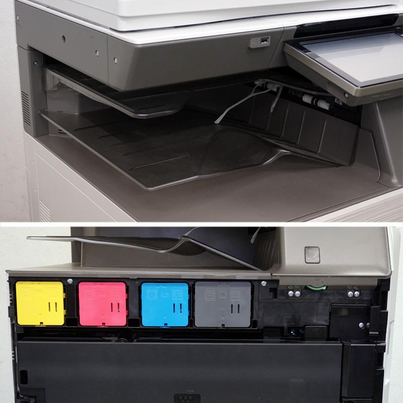中古コピー機 シャープ カラー複合機 MX-2661 (現行モデル/4段カセット/7,818枚) 中古