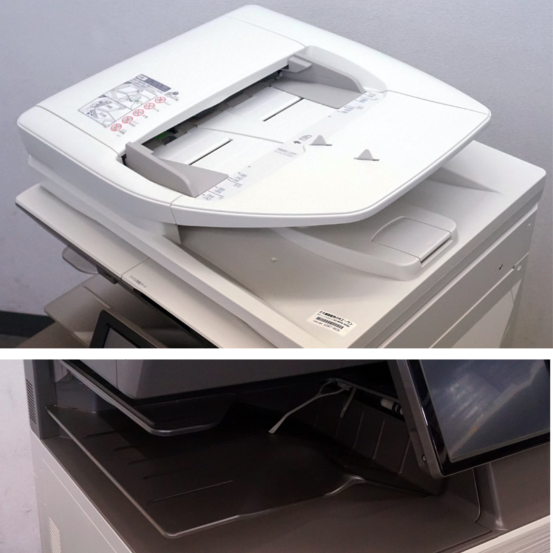 シャープ カラーコピー機 複合機  MX-2631 (2段カセット/カウンタ10,344枚/2019年製 現行機) 中古
