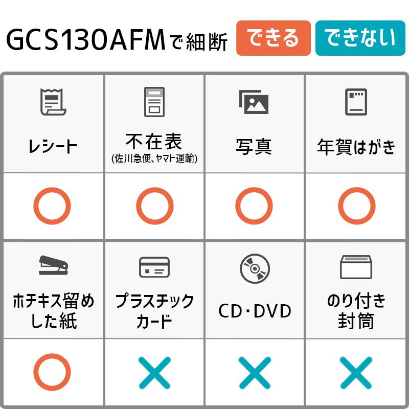 アコ・ブランズ・ジャパン GCS130AFM オートフィードシュレッダー