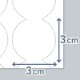 【即納】【300×400mm バブルサイズ3cm幅】エアー梱包材・緩衝材用フィルム アスウィル/Aswill ACB4330 1巻 エアークッション 梱包材 気泡緩衝材 バブルタイプ