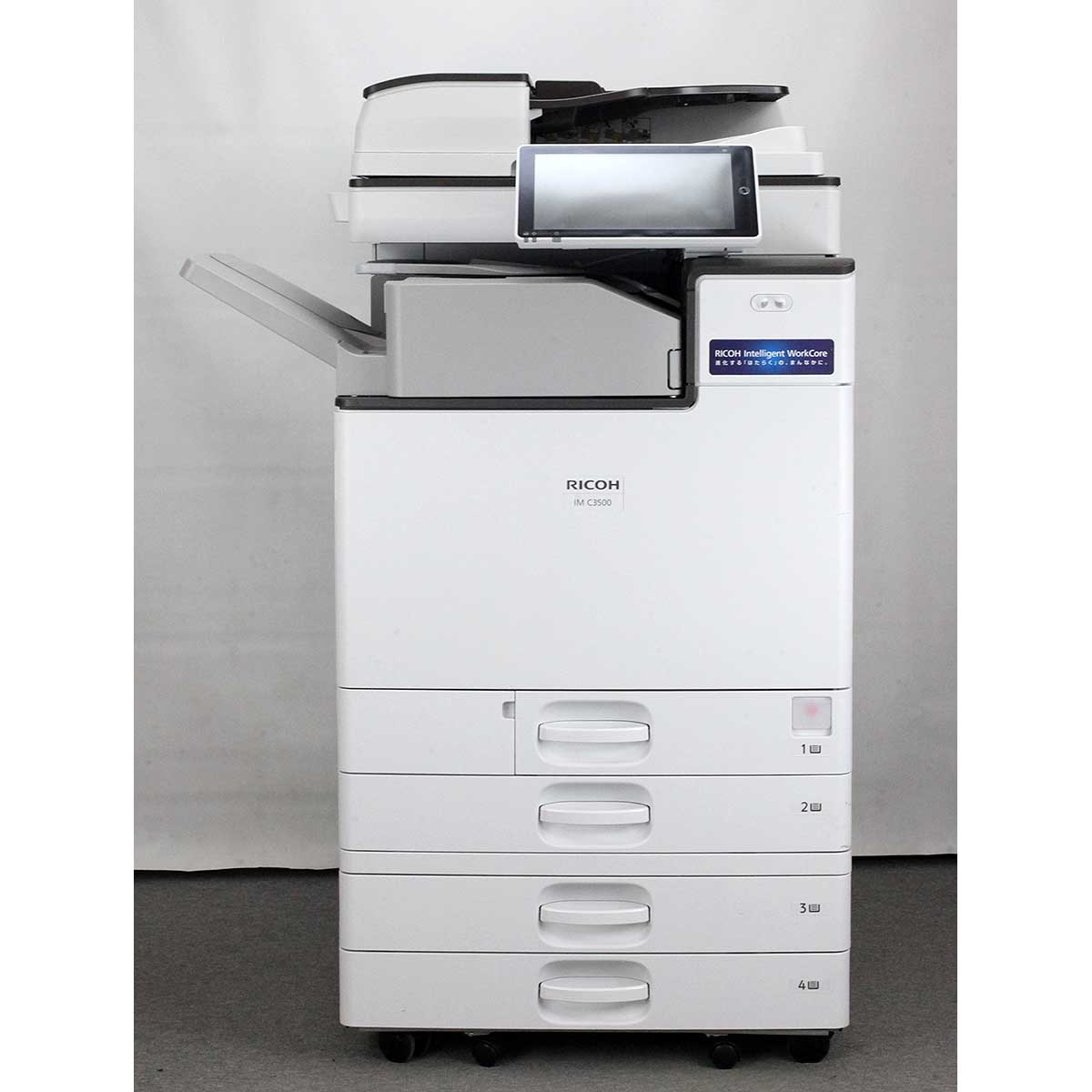 リコー / RICOH IM C3500 F カラーコピー機/複合機 インナー紙折りユニット内蔵 【現行機】【Mac対応】(中古)