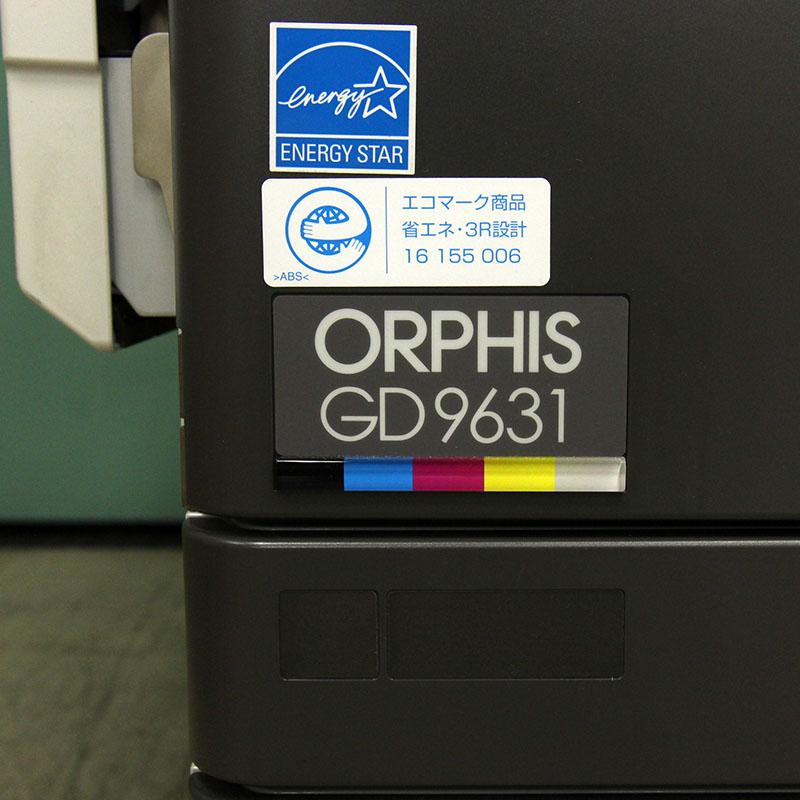 理想科学 高速フルカラープリンタ オルフィス GD9631