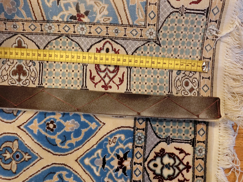 リビングサイズ(S) ナイン産ペルシャ絨毯