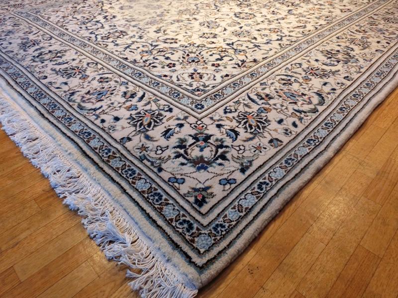 リビングサイズ(L) ヤズド産ペルシャ絨毯