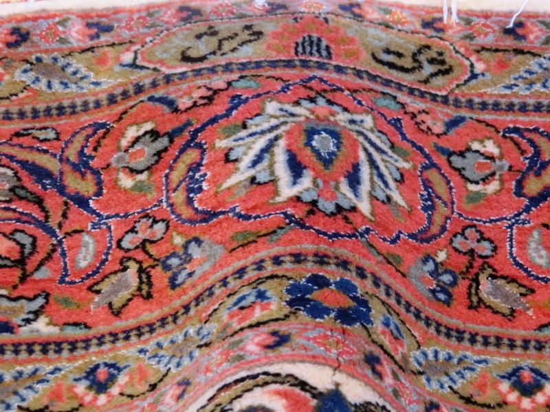 リビングサイズ(L)ケルマン産ペルシャ絨毯