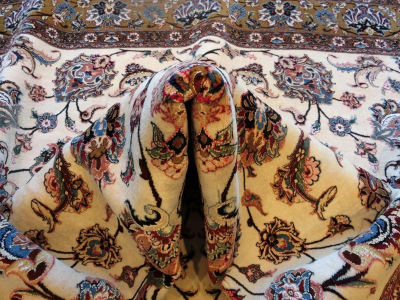 リビングサイズ(L) ビジャー産ペルシャ絨毯