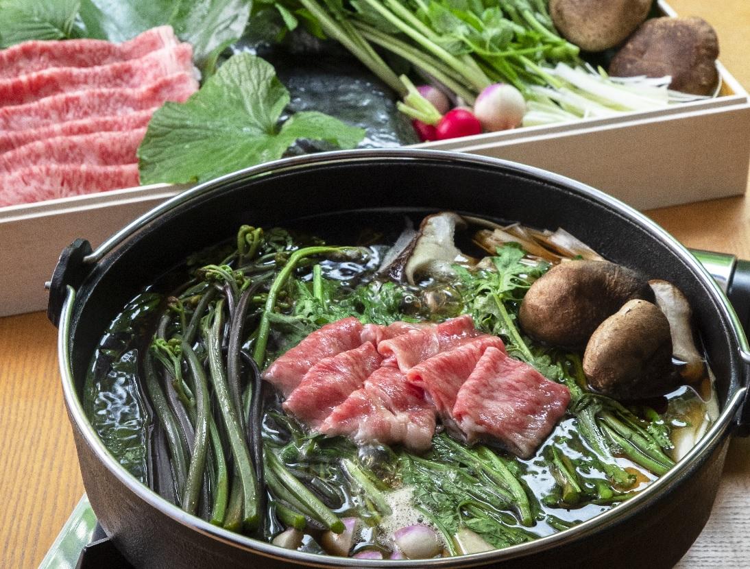 【恋する野菜】信州野菜を楽しむ信州プレミアム牛のすき鍋セット