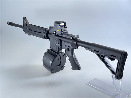 【即納品】FCW マルイ M4 GBBシリーズ用 400連 ドラムマガジン