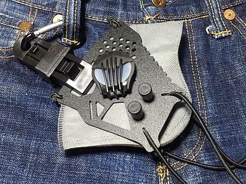 【マスク半額セール】「コロナ対策」FCW サイバーパンクマスク フィルター交換可能