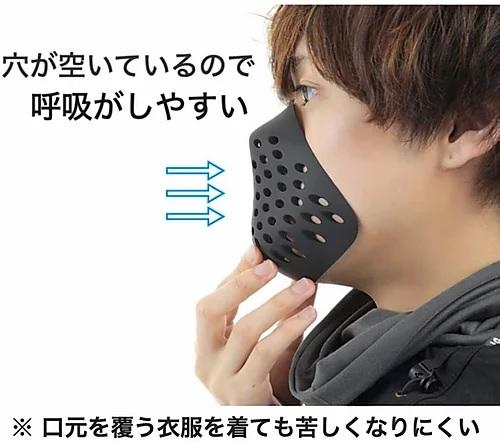 【マスク半額セール】FCW シリコン フェースガード サバゲー用