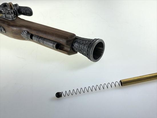 HFC フリントロック ピストル ガスガン シルバー