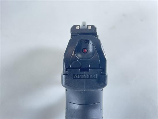 【即納品】 FCW x WE 製 ワルサー P99 コンパクト リアル刻印カスタム  ガスブローバック ハンドガン BK