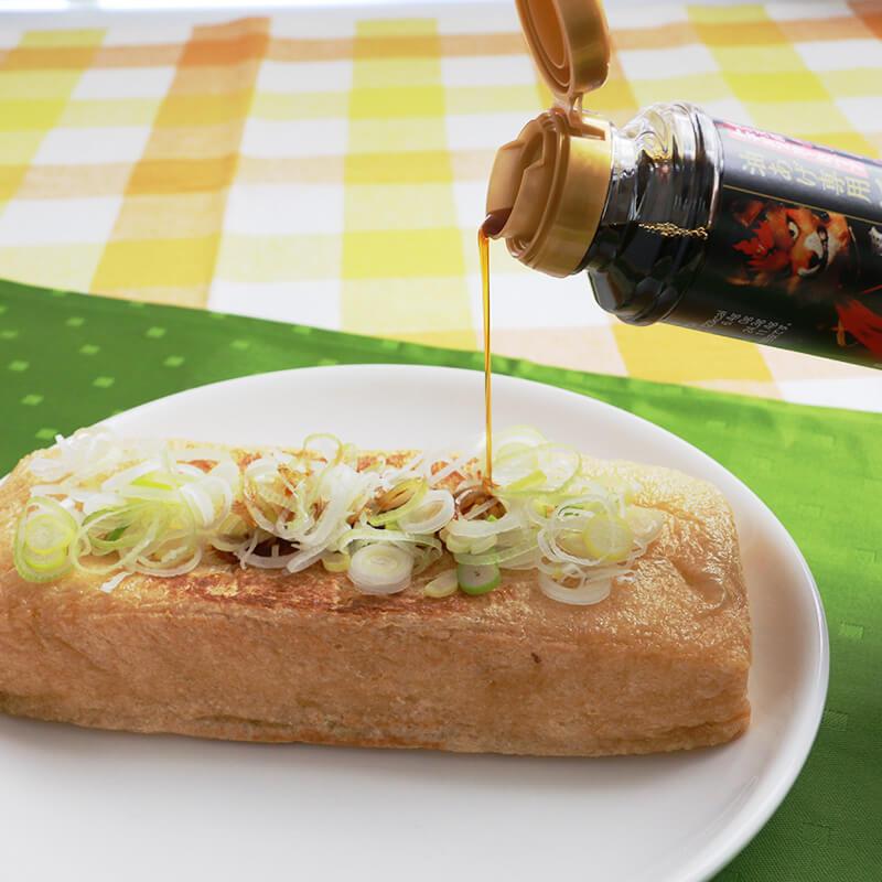トチオンガーセブン 油あげ専用醤油 200ml