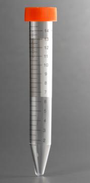 コーニング15mL遠沈管 滅菌済、PPとPET