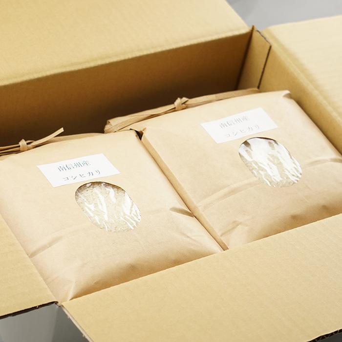 長野県産 コシヒカリ 6kg(3kg×2袋)