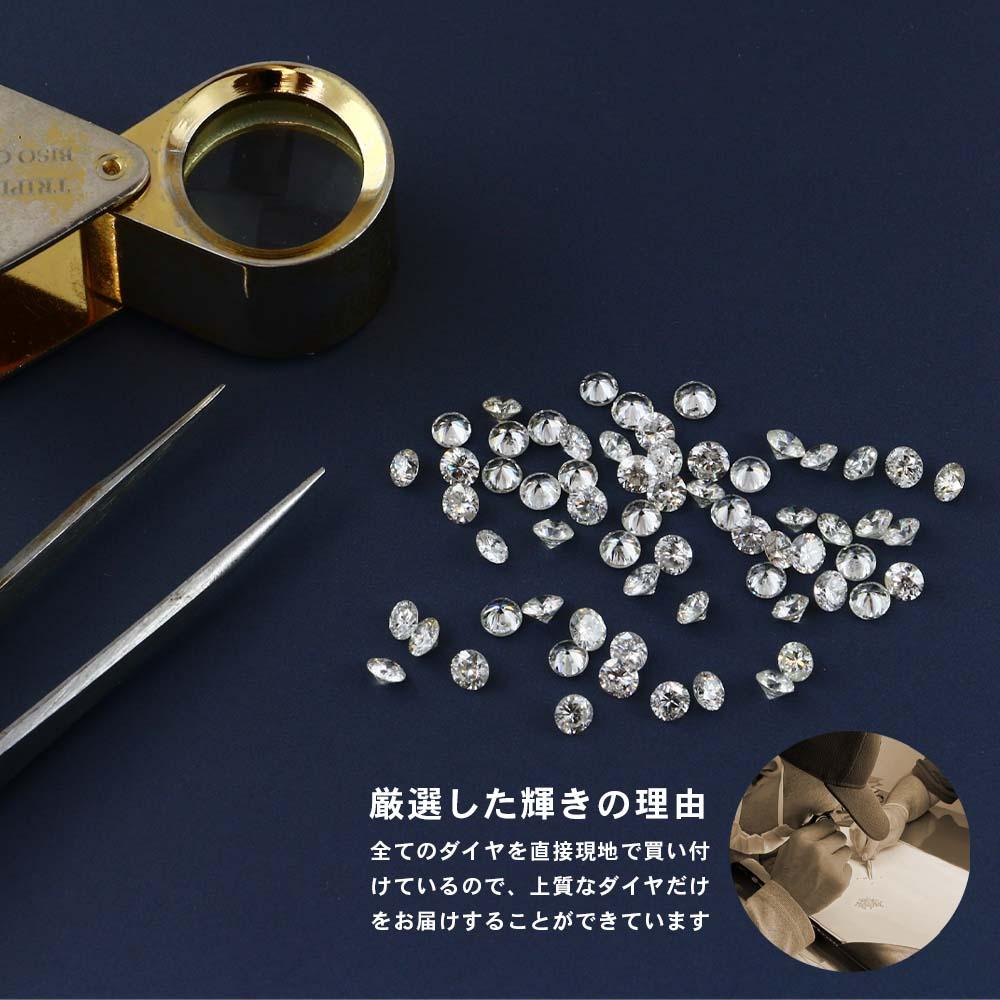 ALLDE / ダイヤモンド 7ストーンラインネックレス