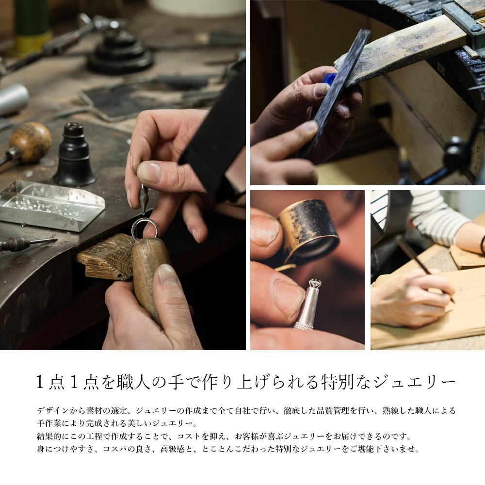 0.5カラット モアサナイト 4本爪 ソリティアネックレス