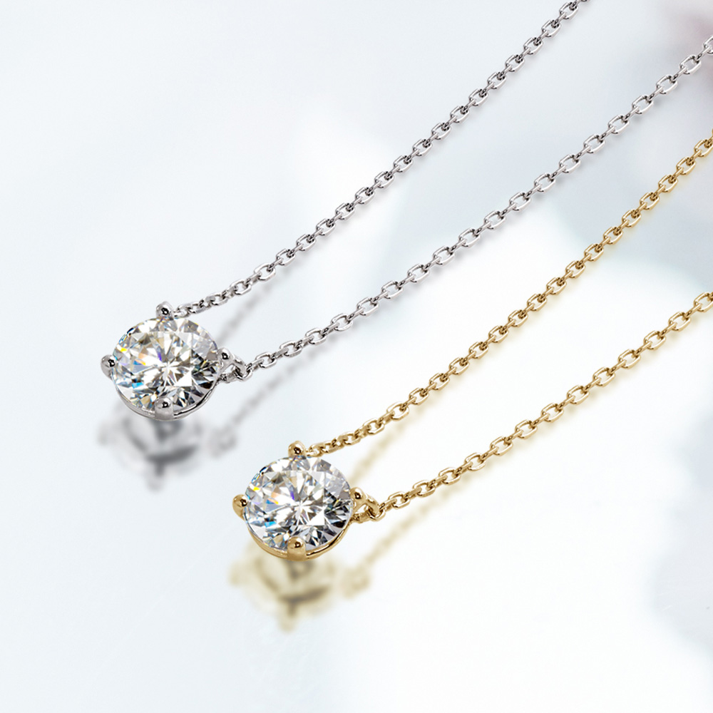 【GINGER掲載】両引きネックレス(3サイズ/2カラー)