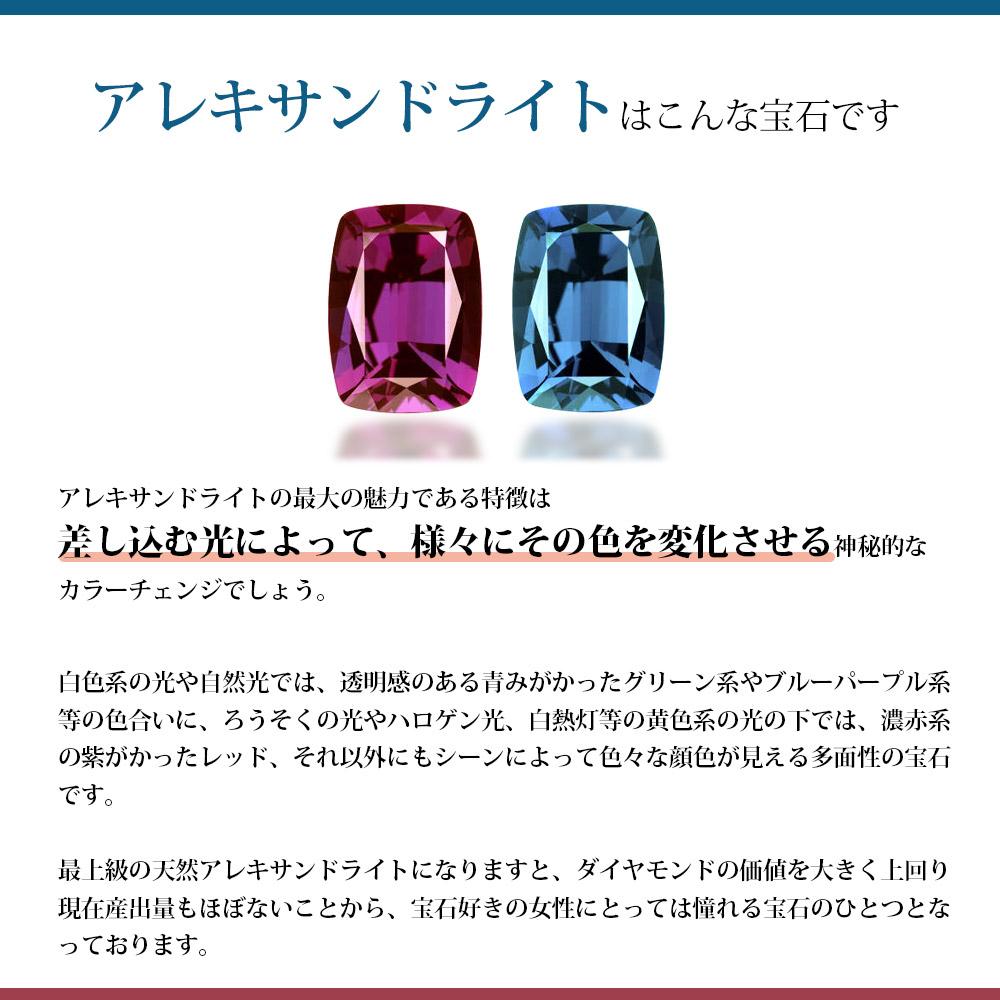 1.86カラット 人工 アレキサンドライト Halo リング 指輪