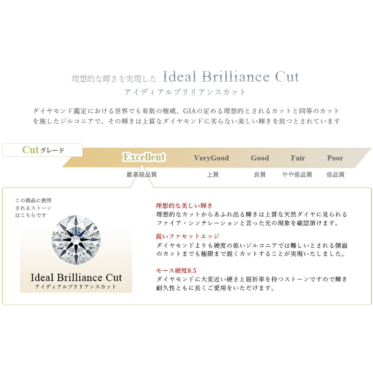 Ideal Brilliance Cut 計1.23カラット Cluster Bar ペンダント ネックレス