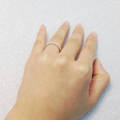 0.87カラット フルエタニティーリング(指輪)
