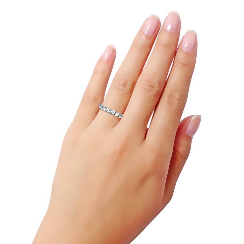 2.2カラット フルエタニティーリング(指輪)
