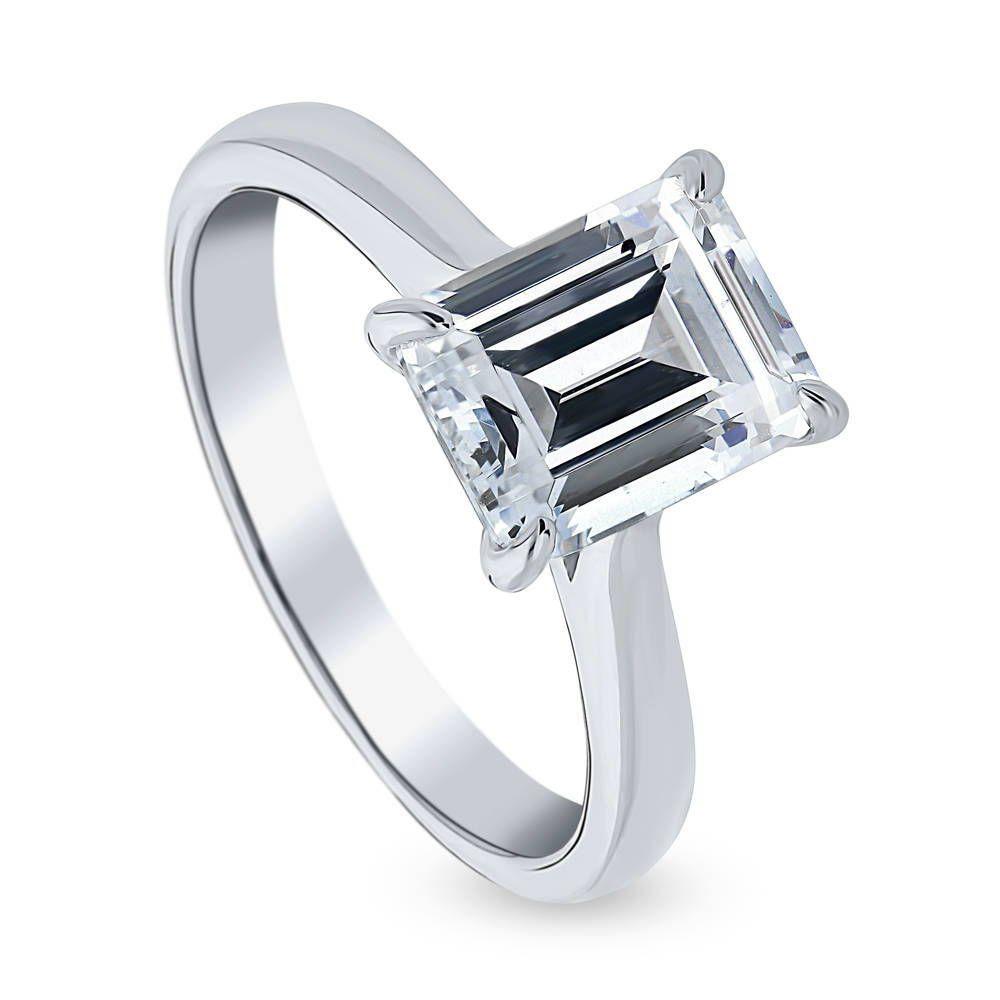 Ideal Brilliance Cut ジルコニア 2.62カラット スワロフスキー ジルコニア リング 指輪 レディース