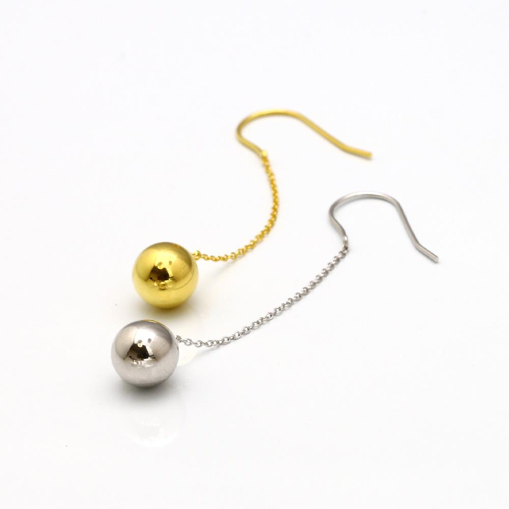 【Jewelry Castle】Ag925 揺れるボールがカワイイ ボール フック ピアス