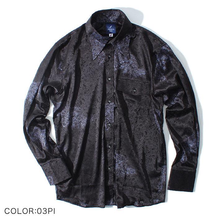 ペイズリードレスシャツ