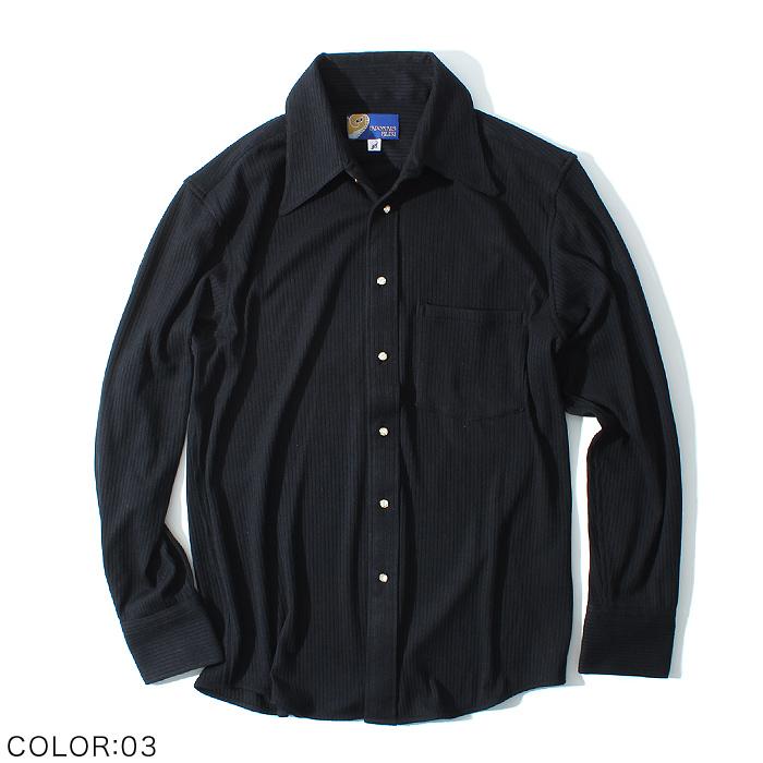 テレコドレスシャツ