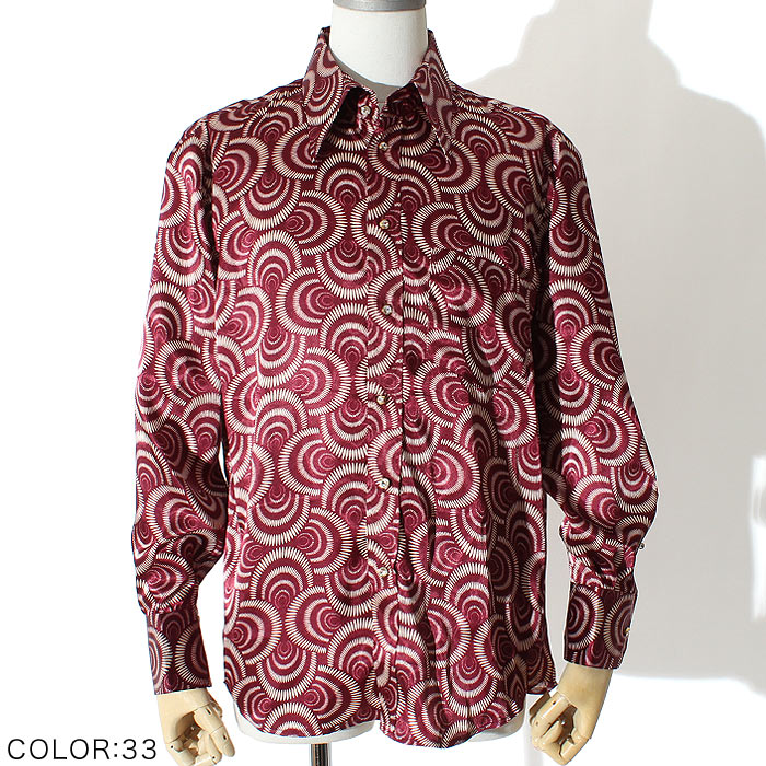 スパイラルドレスシャツ