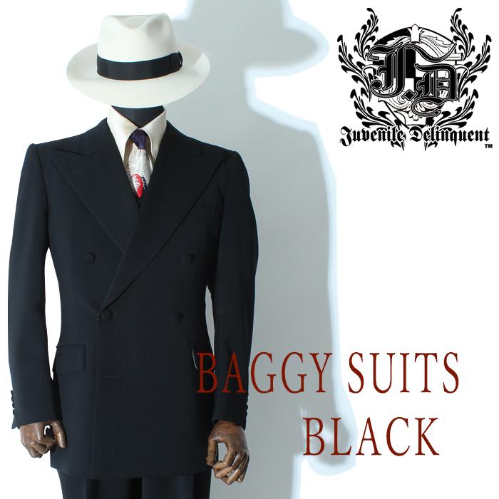 バギースーツ ブラック ベスト付き