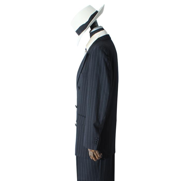 バギースーツ ブラックストライプ ベスト付き