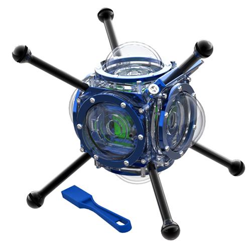 <安心360°VR撮影セット 深海1000mの360度撮影に最適>360HEROS 360ABYSS レンタル貸出