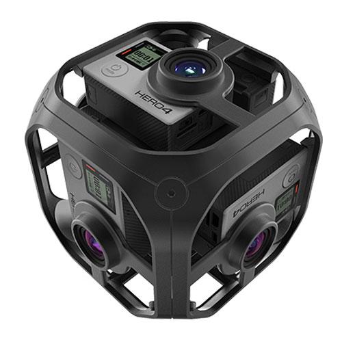 GoPro Omni<安心360°VR撮影セット>6面同期カメラGoPro HERO4×6台 レンタル貸出(編集ソフトは付属しません)