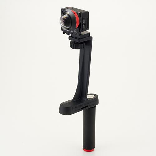 改造GoProインタニヤ280度レンズ×1台セット<安心360°VR撮影セット ステッチ作業無しで360度撮影可能> レンタル貸